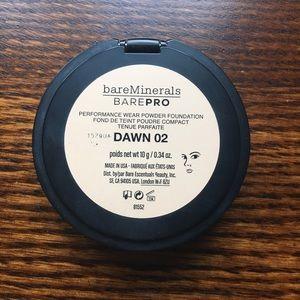 bareminerals barepro powder foundation dawn 02